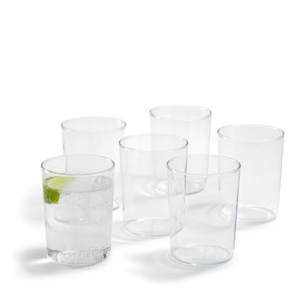 TRENDGLAS JENA Narrow German Glass Cup Set of 6