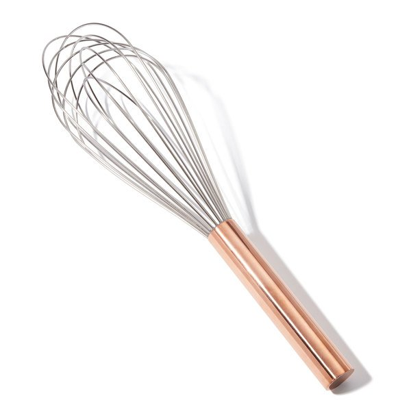 """BEST WHIPS 12"""" Copper Handle Whisk"""