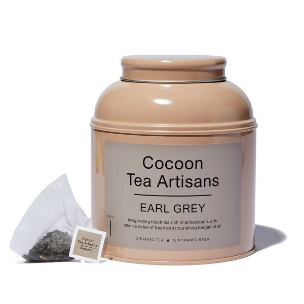 COCOON TEA ARTISANS  100% Organic Earl Grey Tea