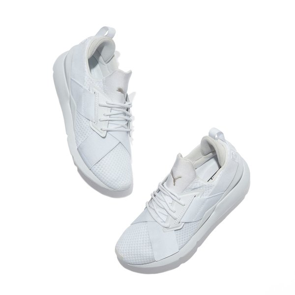 PUMA Muse White Sneakers