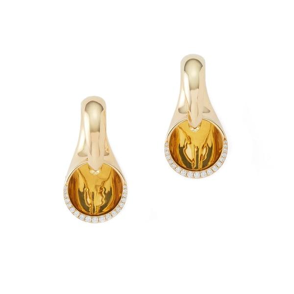 VRAM Sine Hinged Earrings