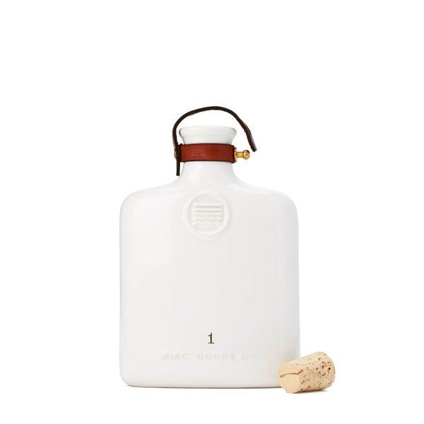 MISC. GOODS CO. Ivory Ceramic Flask