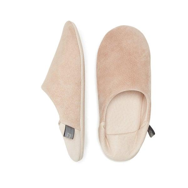 MORIHATA Washable Leather Room Shoes