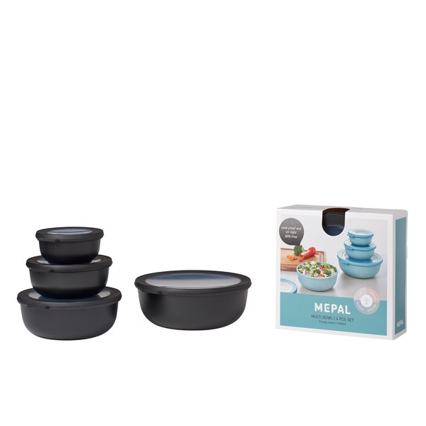 ROSTI MEPAL Nested Storage Bowls, Set of 4