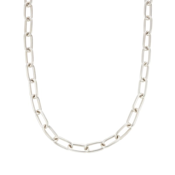 SOPHIE BUHAI Large Silver Rectangular Chain Collar