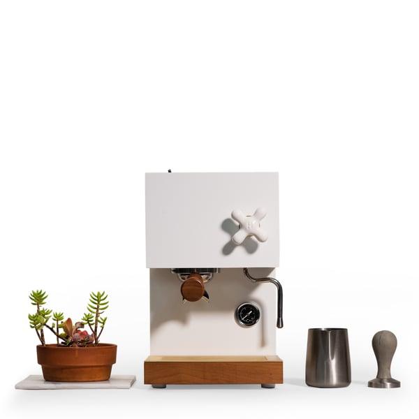 ANZA Anza White Espresso Machine