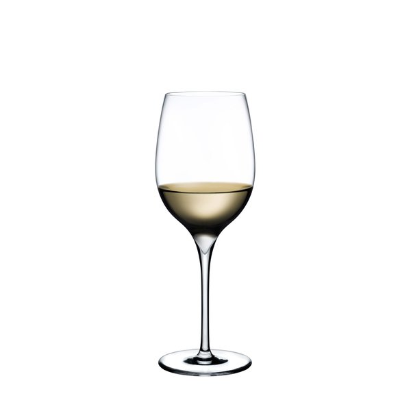 NUDE GLASS  Dimple Aromatic White Wine Glass, Set of 2