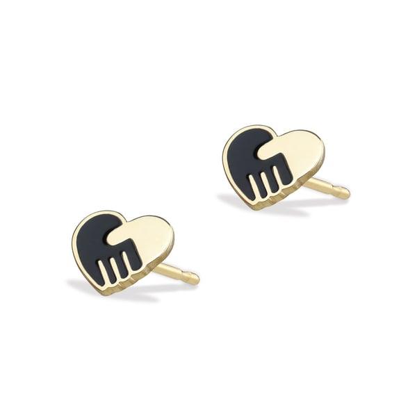 MAYA X KIO Gold Unity Earrings