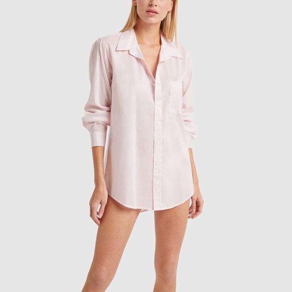 POUR LES FEMMES Boyfriend Sleep Shirt