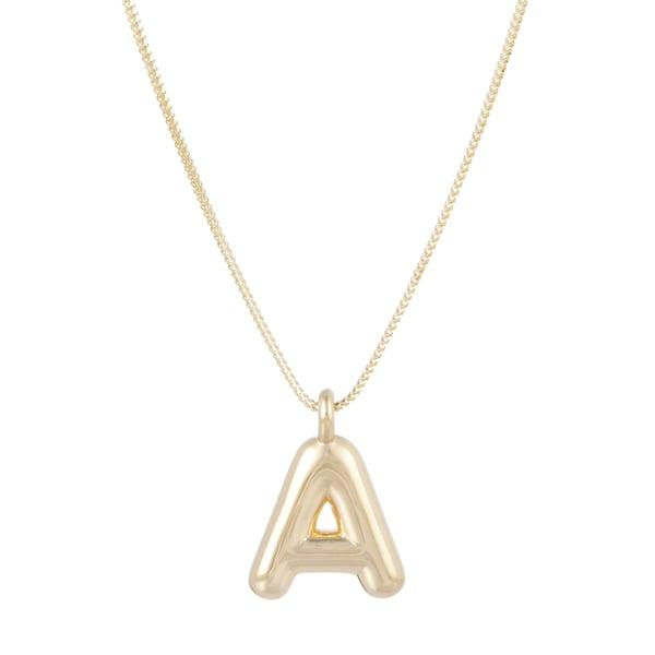 ARIEL GORDON Helium Initial Pendant Necklace