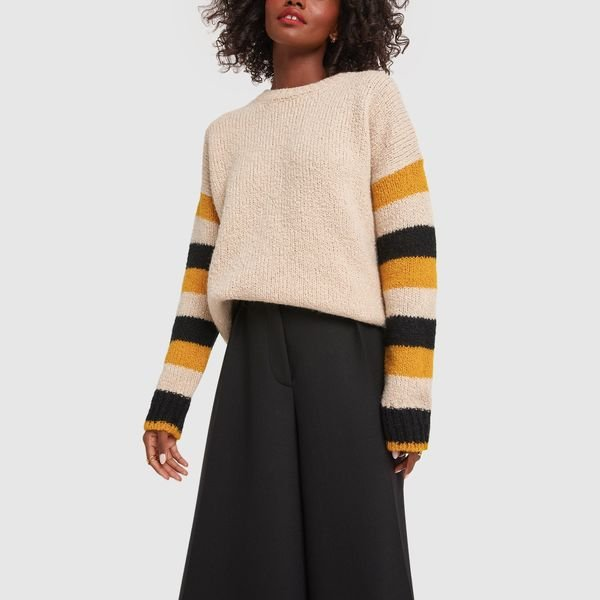 LA DOUBLEJ Crew Boy Sweater