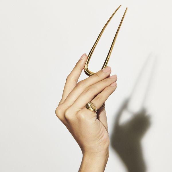 DEBORAH PAGANI Large Sleek Hairpin