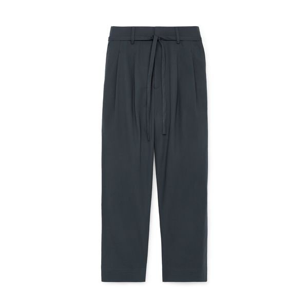 CO Pleated-Crop Pants