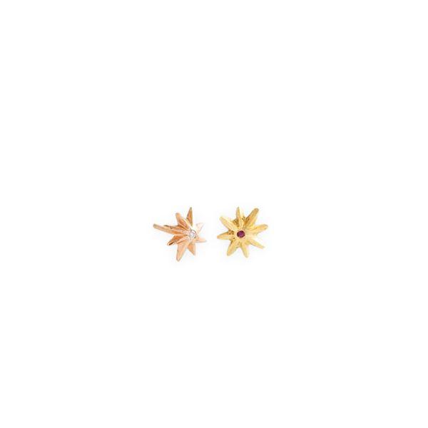 JAMES BANKS DESIGN Small Baby Star Earrings