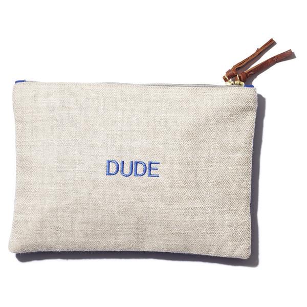 """""""dude"""" clutch"""