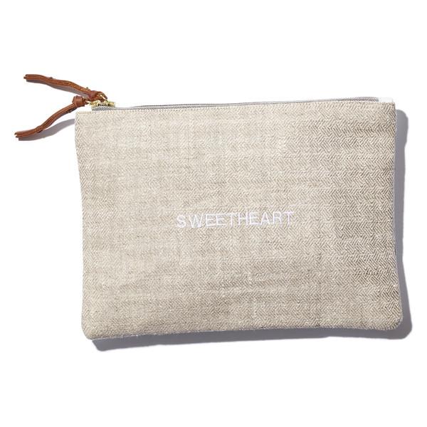 """""""sweetheart"""" clutch"""