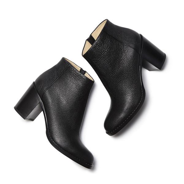 Bushwick Ankle Boot in Grain Goatskin