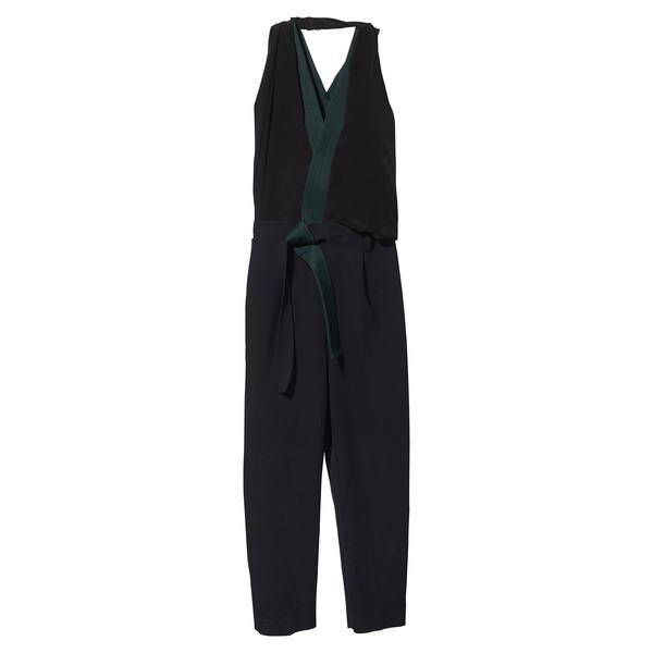 draped jumpsuit
