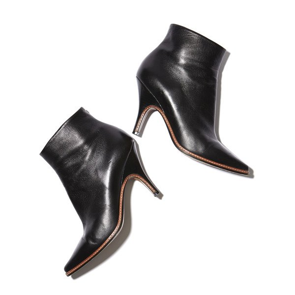 GP's Patent Leather Pointy-Toe boots