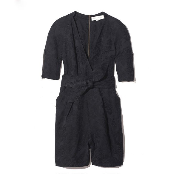 GP's Silk patterned v-neck jumpsuit