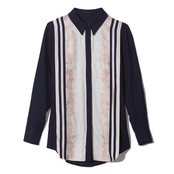 GP's Structured, patterned collared shirt
