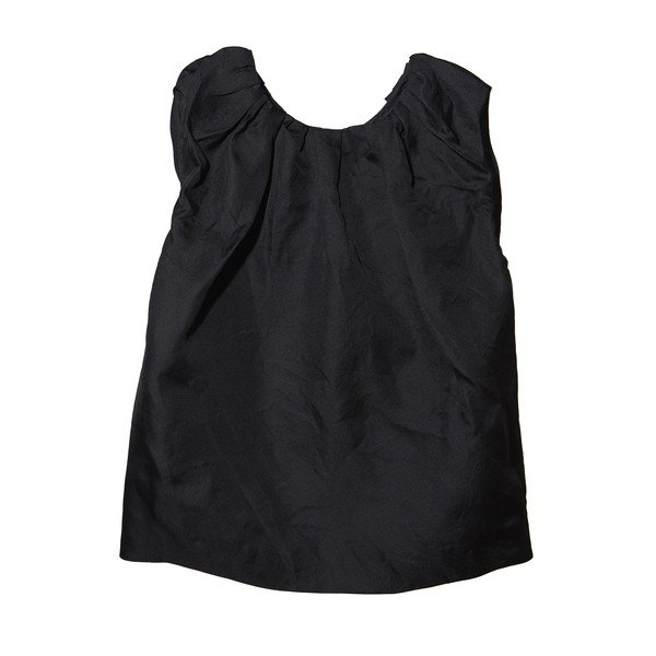 GP's Trapeze Ruched Neck Blouse