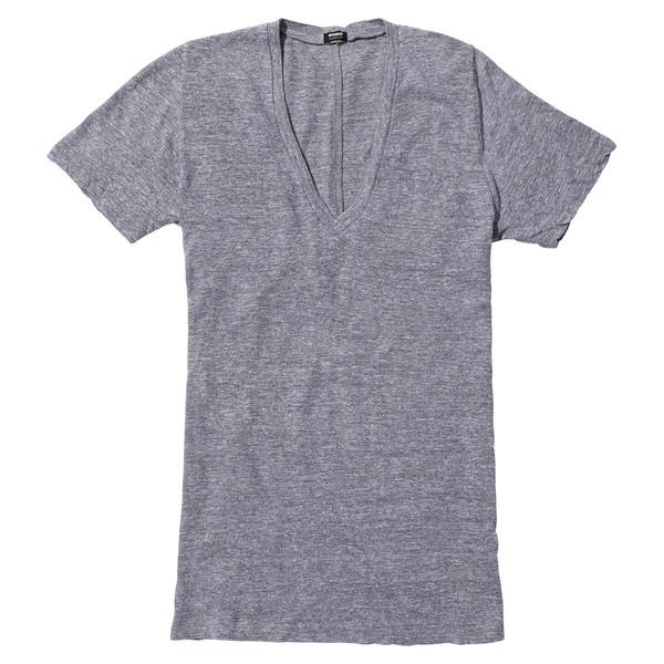 granite v-neck t-shirt