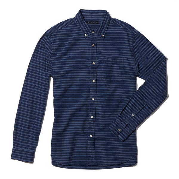 Indigo horizontal shirt