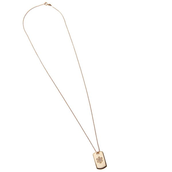 Initial Dogma Necklace