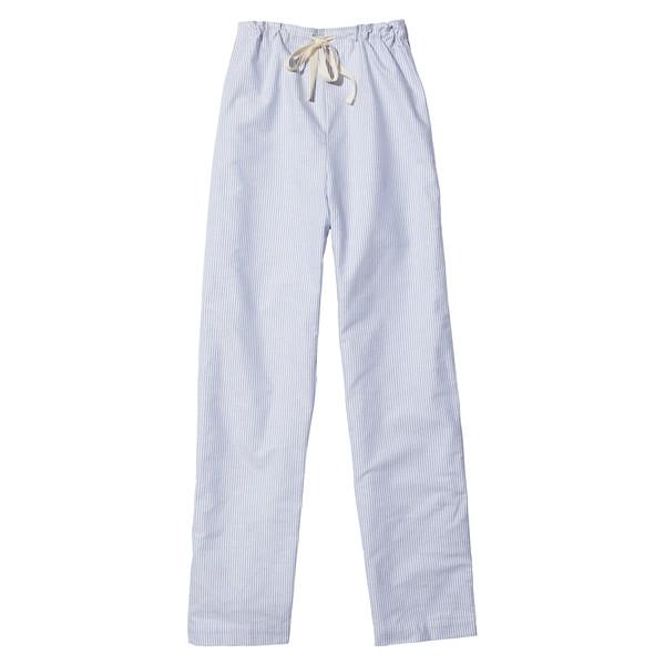 Lounge Pant Blue Oxford Stripe