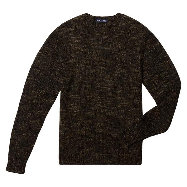 Macho Alpaca Blend Crew Sweater