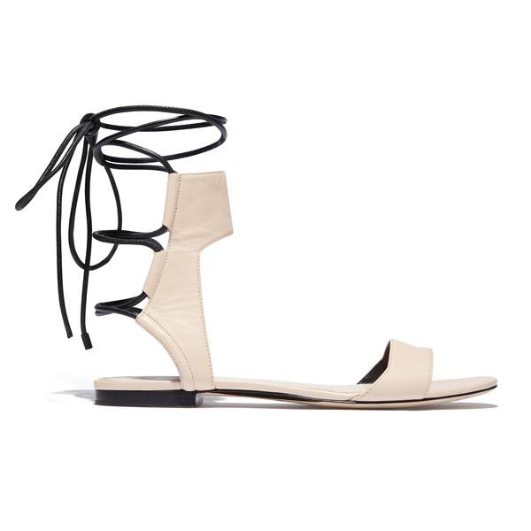 Martini Ankle Lace Flat Sandal