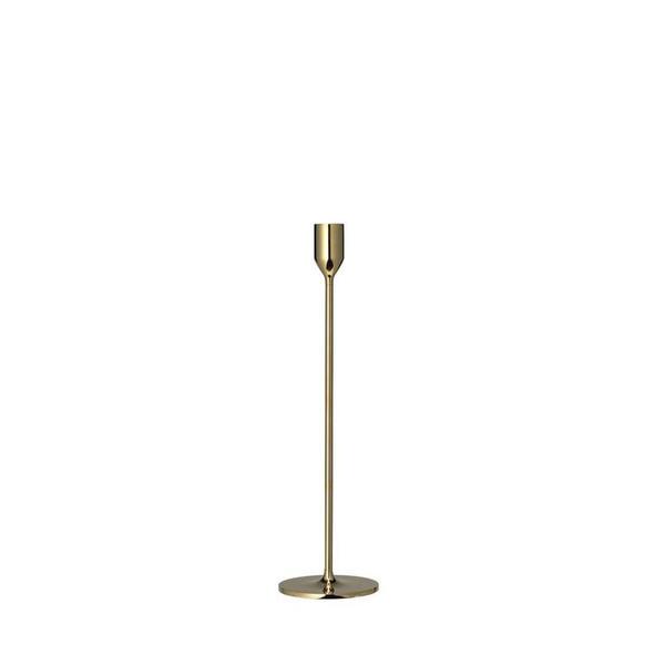 Medium Solid Brass Candle Holder