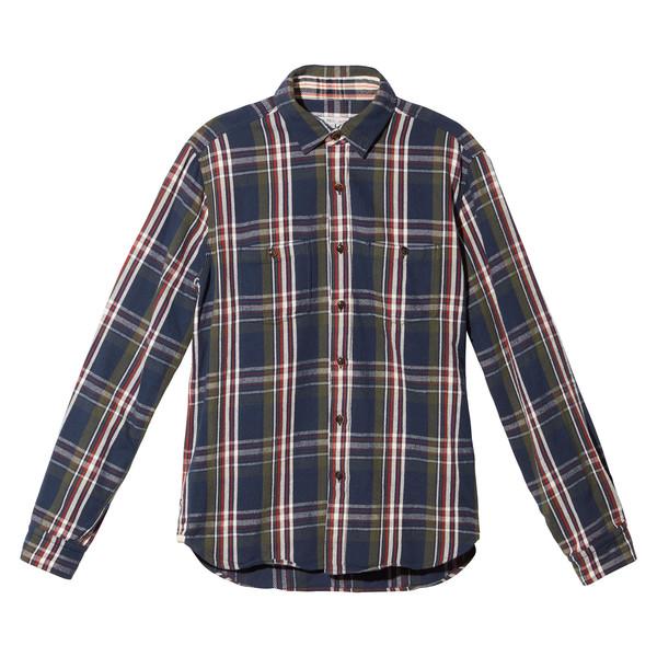 Slub Twill Plaid Chore Shirt