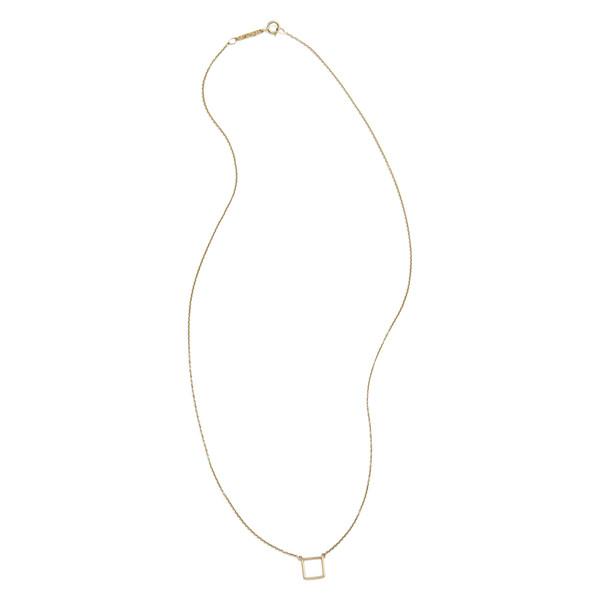 square stick necklace