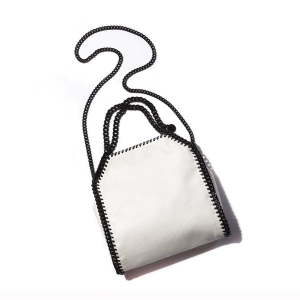 Stella McCartney's Suede chain link purse