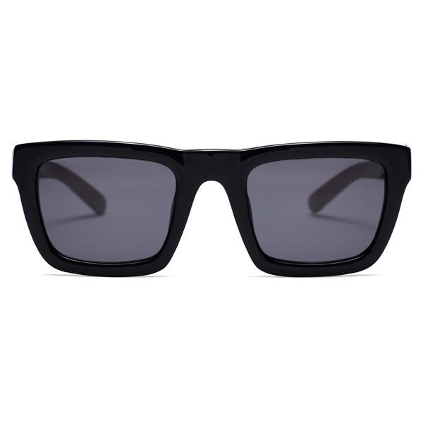 flat top sunglasses Black