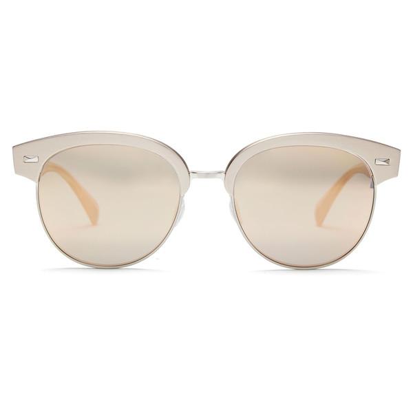 Shaelie Sunglasses Pink Mirror