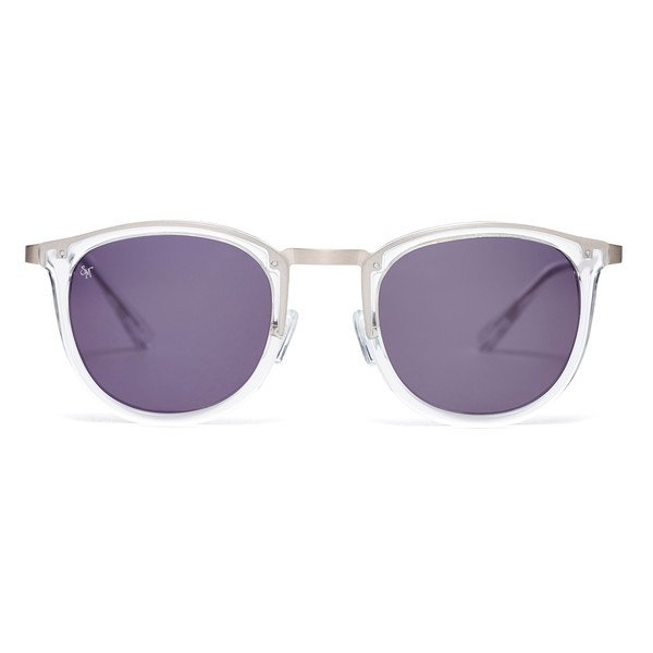 shout sunglasses Crystal/Brushed Silver
