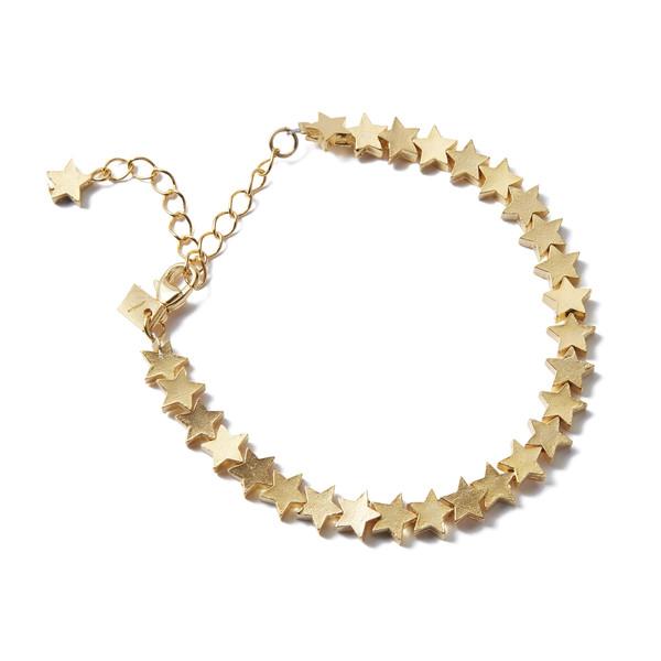 Star Chain Bracelet Gold