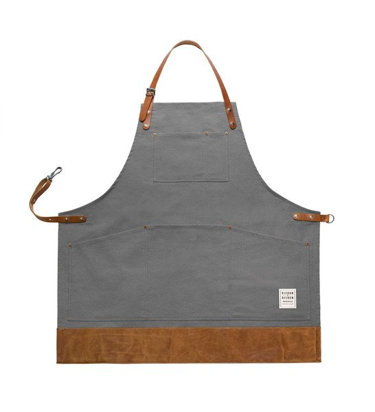 Apron With Leather