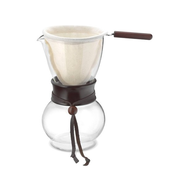 Glass Dripper with Cloth Filter