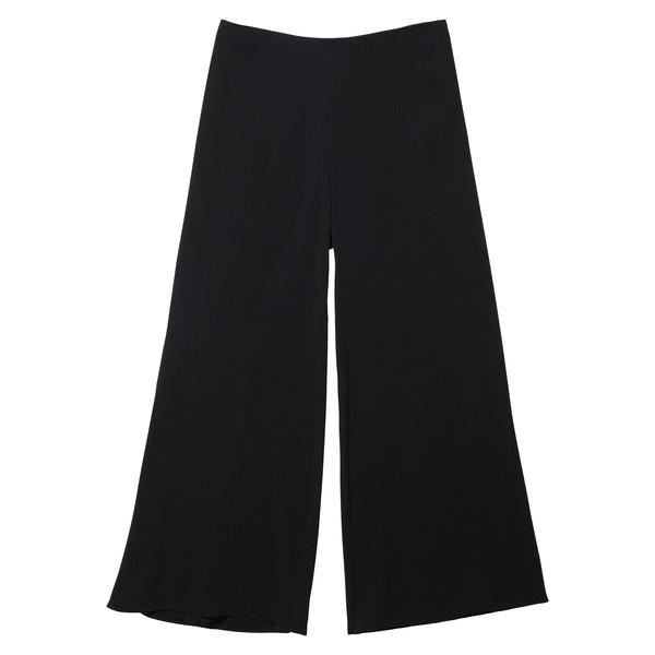 Japanese crepe wide leg trouser