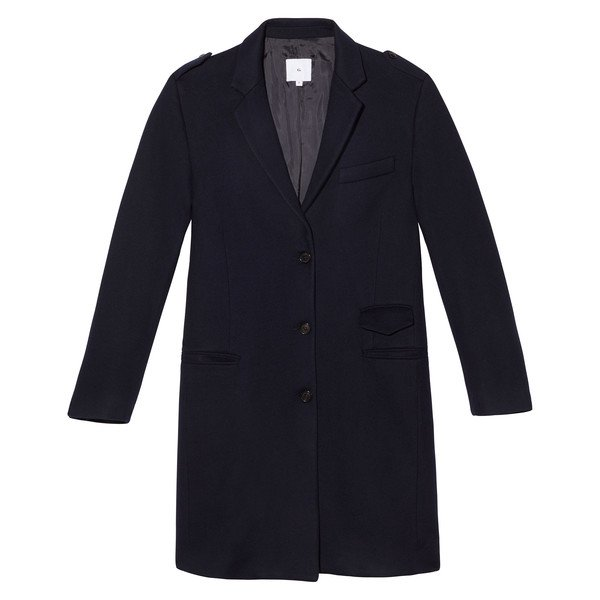 Gwyneth Soft Crombie Coat