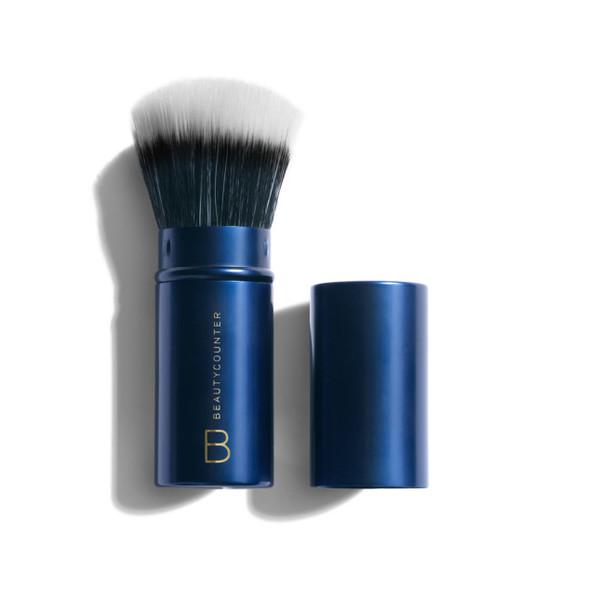 retractable complexion brush