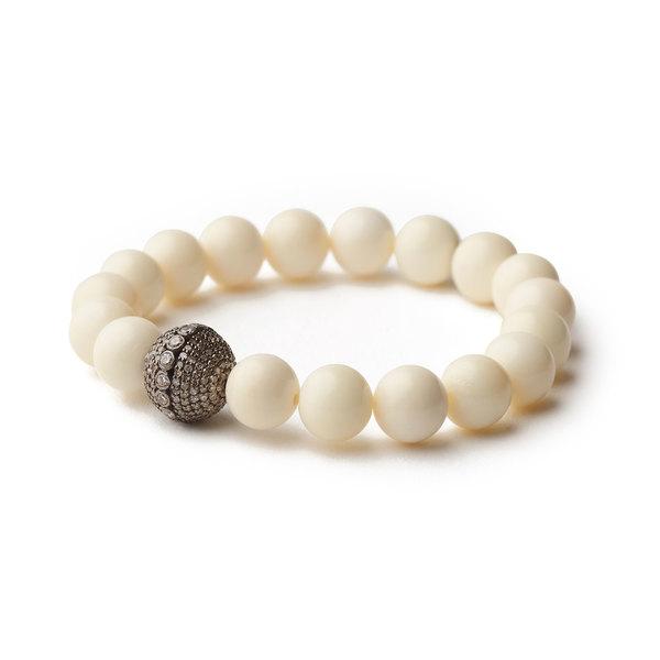 Sheryl Lowe Bone Pave Bracelet