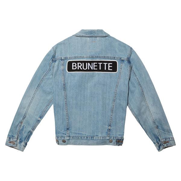 "Brunette The Label The Light ""Rocker"" Denim Jacket - Brunette"