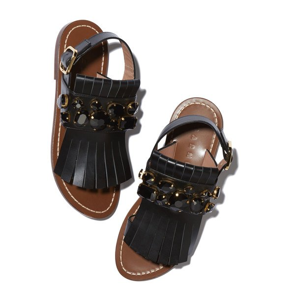 Marni Sandals With Jewels