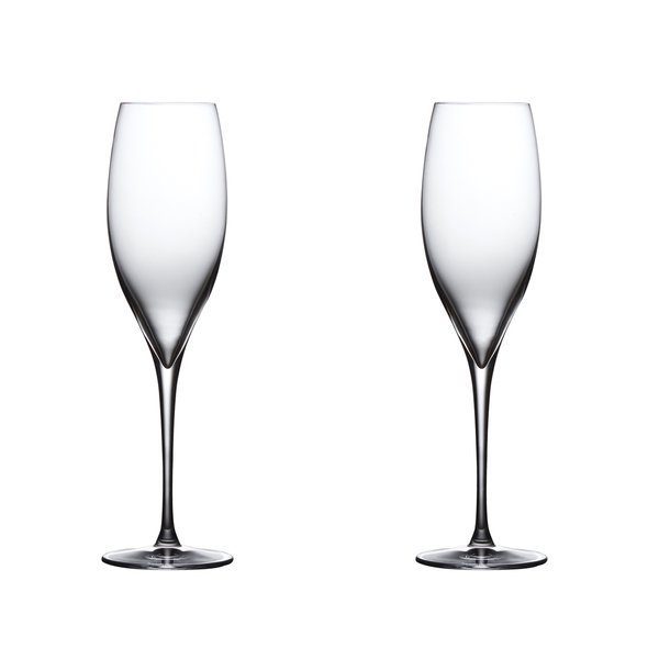 Nude Glass  Terroir Champagne Set of 2