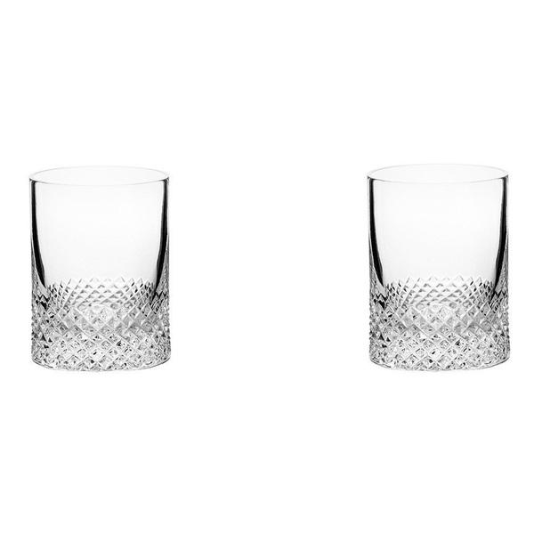 Richard Brendon Diamond Shot Glasses, set of 2